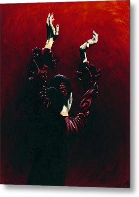 Flamenco Fire Metal Print by Richard Young