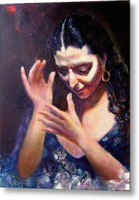 Flamenco Soul Metal Print