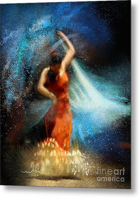 Flamencoscape 05 Metal Print by Miki De Goodaboom