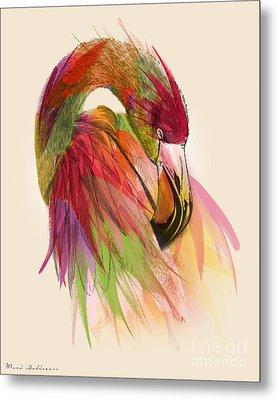 Flamingo  Metal Print by Mark Ashkenazi