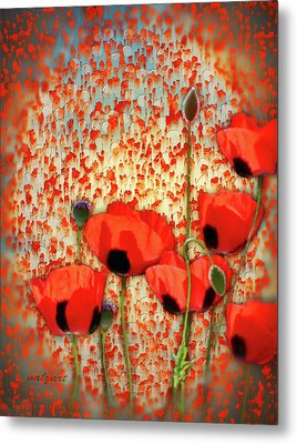Flanders Fields Metal Print