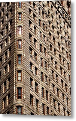 Flat Iron Metal Print by Deborah  Crew-Johnson