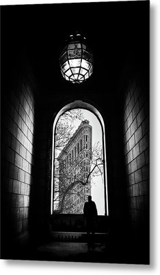 Metal Print featuring the photograph Flatiron Perspective by Jessica Jenney