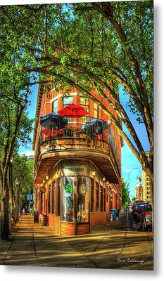 Flatiron Style Pickle Barrel Building Chattanooga Tennessee Metal Print