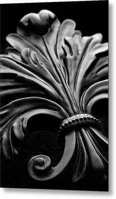 Fleur De Lis II Metal Print