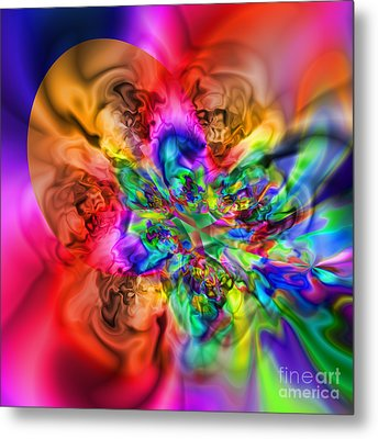 Flexibility 17ca Metal Print by Rolf Bertram