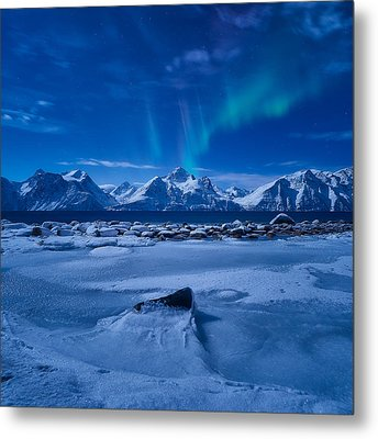 Flicker Metal Print by Tor-Ivar Naess