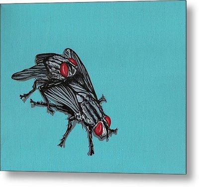 Flies Metal Print by Jude Labuszewski