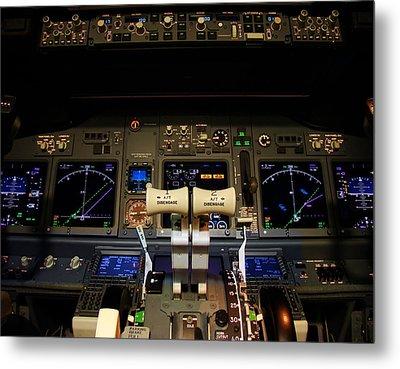 Flight Deck. Metal Print by Fernando Barozza