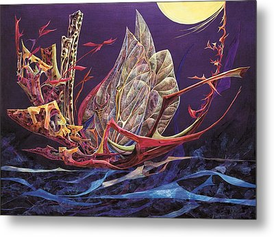 Flight Of Fancy Metal Print by Charles Cater