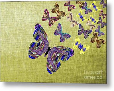 Flight Of The Butterflies Metal Print