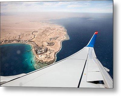 Flight To Egypt Metal Print by Nailia Schwarz