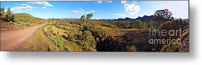 Flinders Ranges Metal Print by Bill Robinson