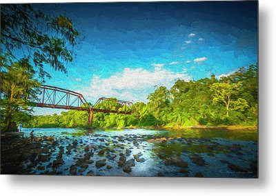 Flint River Metal Print