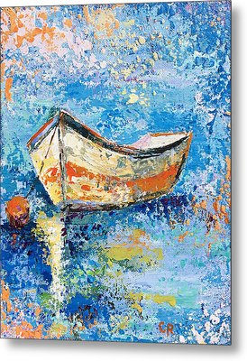 Metal Print featuring the painting Float by Chris Rice