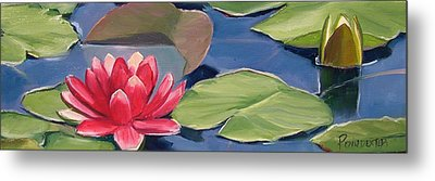 Float Metal Print by Dianna Poindexter