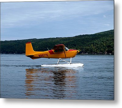 Float Plane Two Metal Print by Joshua House