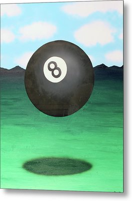 Metal Print featuring the painting Floating 8 by Thomas Blood