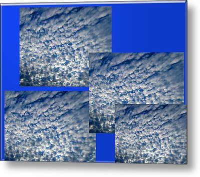 Floating Clouds Metal Print by Tina M Wenger