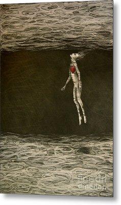 Floating Hearts #1 Metal Print