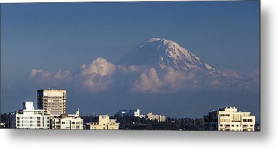 Floating Mountain Metal Print by Ed Clark
