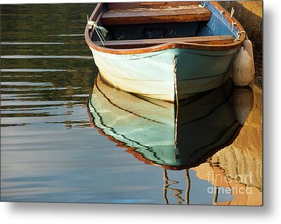 Metal Print featuring the photograph Floating On Blue 44 by Wendy Wilton