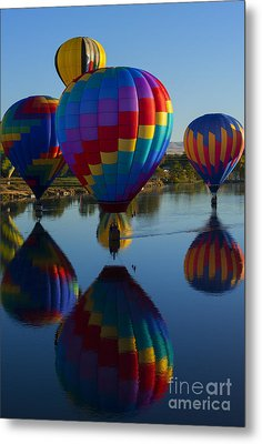 Floating Reflections Metal Print by Mike Dawson