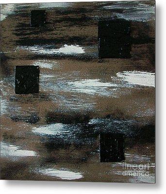 Floating Squares Metal Print by Marsha Heiken
