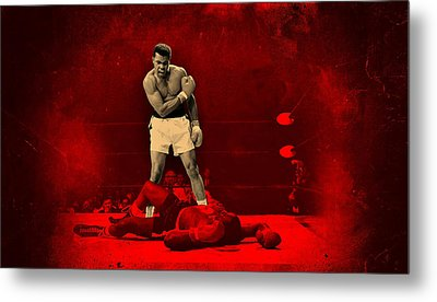 Floats Like A Butterfly Stings Like A Bee Metal Print by Movie Poster Prints