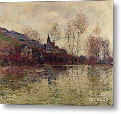 Floods At Giverny Metal Print by Claude Monet