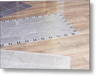 Floor Decor Metal Print by Tom Gowanlock