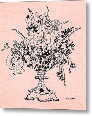 Flora 1 Metal Print by Stuart