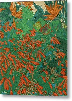Flora And Fauna Metal Print by Malcolm Warrilow