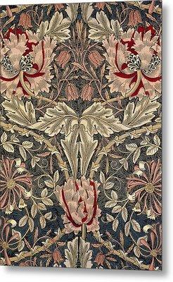 Flora And Foliage Design Metal Print