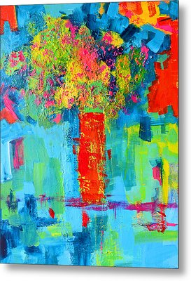 Floral Abstract Expressions Metal Print by Patricia Awapara