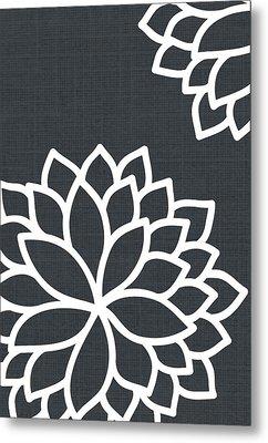 Floral Bursts Metal Print