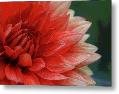 Metal Print featuring the photograph Floral Delight by Mike Martin