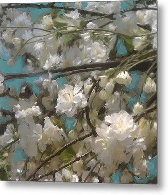 Floral01 Metal Print
