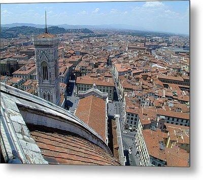 Florence Duomo Metal Print by Joseph R Luciano