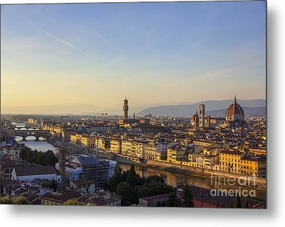 Metal Print featuring the photograph Florence by Spencer Baugh