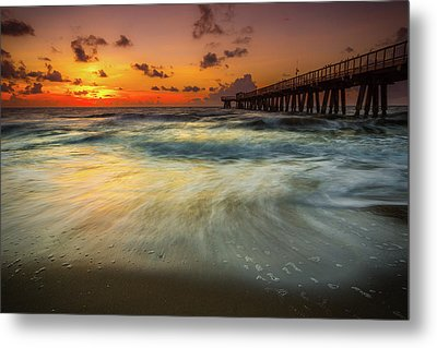 Florida Breeze Metal Print