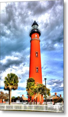 Florida Lighthouse Metal Print by William Havle