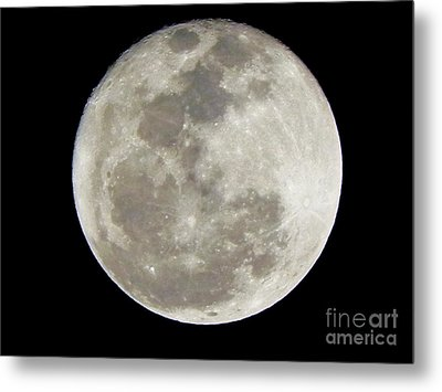 Florida Moon 2-28-2011 Metal Print by Jack Norton