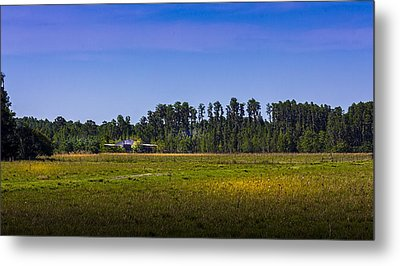 Florida Ranch Metal Print by Marvin Spates