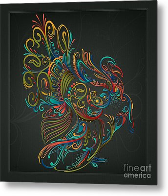 Flourish Turkey Metal Print by Bedros Awak