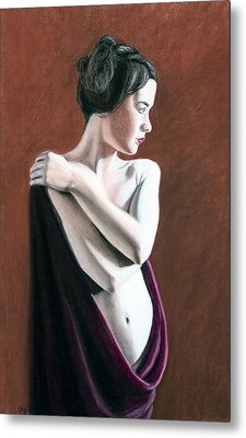 Metal Print featuring the painting Flow by Joseph Ogle