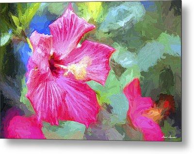 Flower 1 Metal Print by Glenn Gemmell