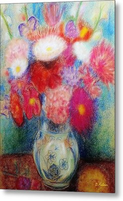 Flower Arrangement Metal Print