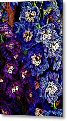 Flower Arrangement II Metal Print by David Lane