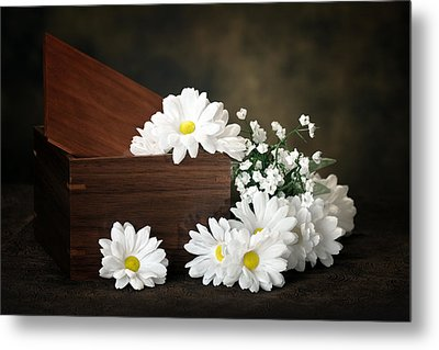 Flower Box Metal Print by Tom Mc Nemar